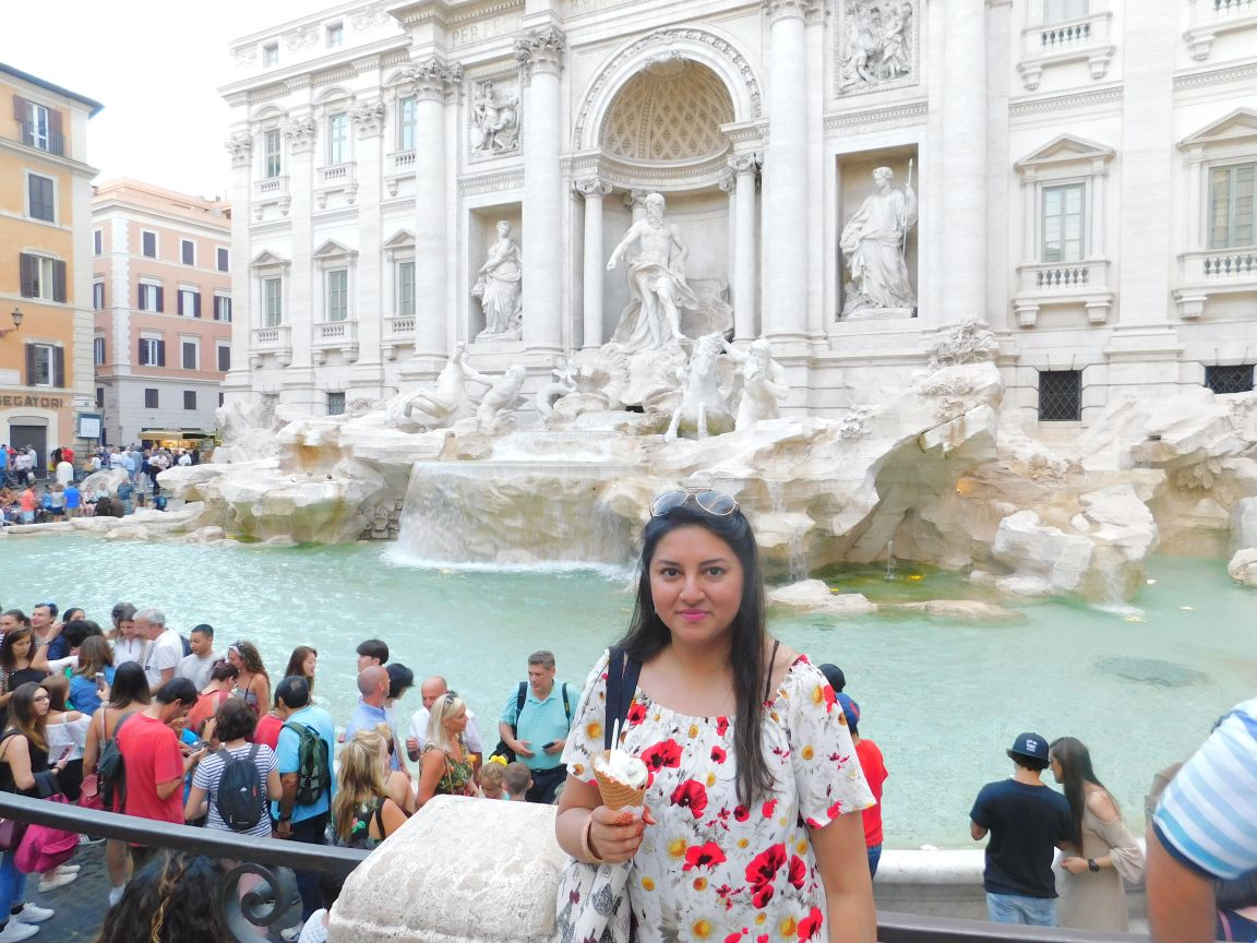 First day in Rome